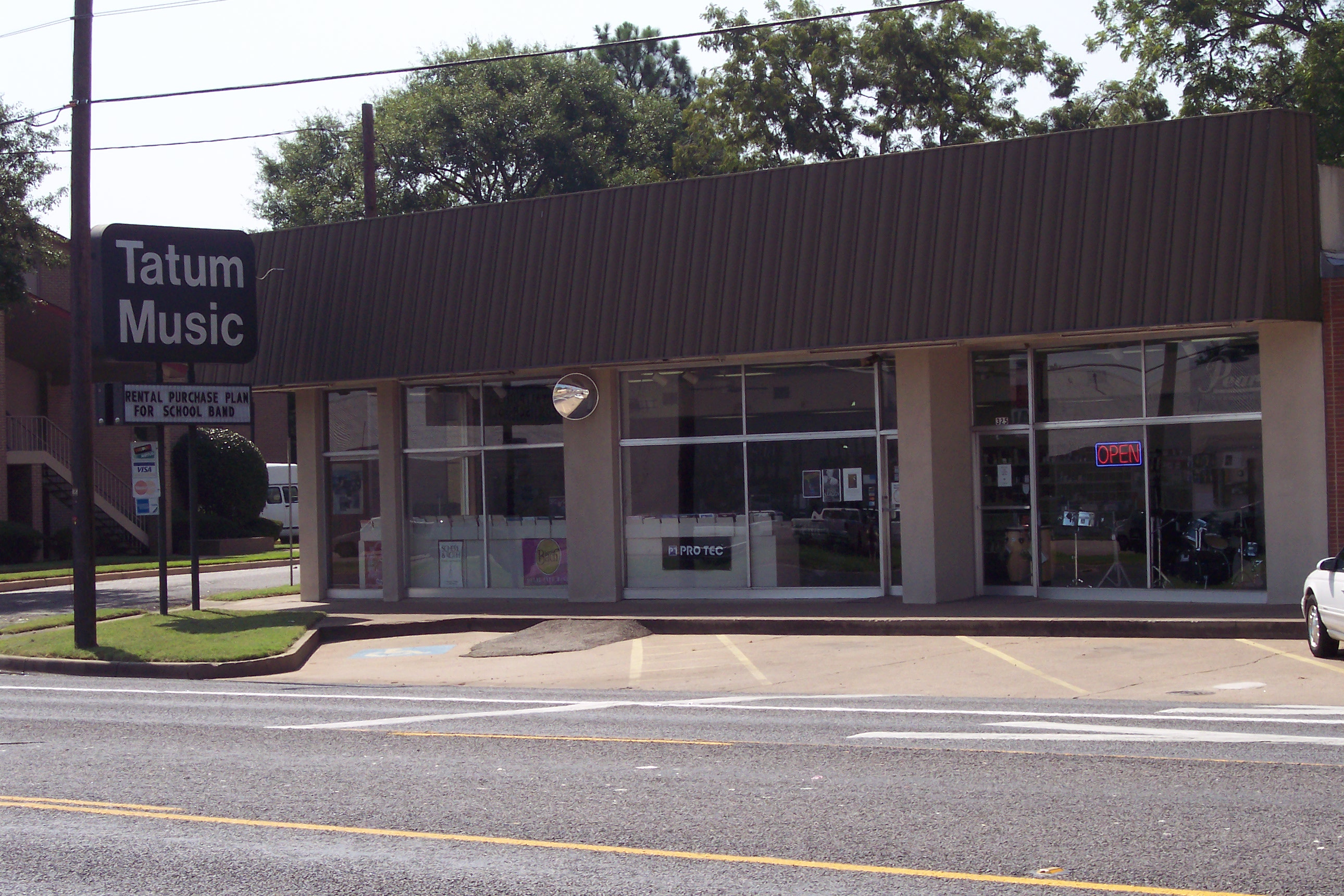 Tyler Texas Music Store